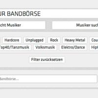 Musikerbörse: Band sucht Musiker - Musiker sucht Band