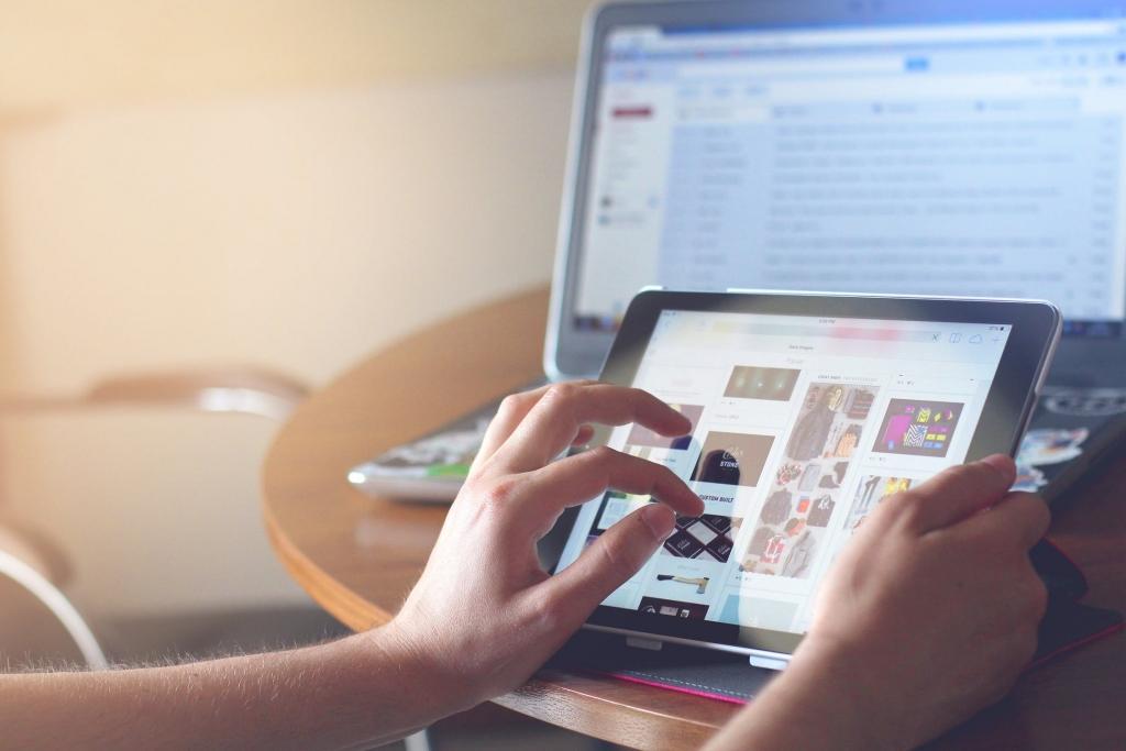 Produktionsagentur iPad